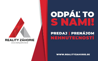 realityzahorie.sk baner