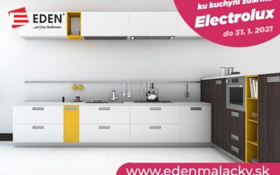 Kuchyňa na mieru a Electrolux zdarma – AKCIA!